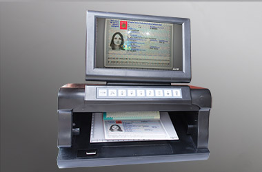 The newest type ID document detector C12 SA