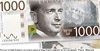 New image on the 1000-krona bank-note